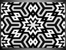Foto canvas schilderij Modern | Zwart, Wit, Grijs