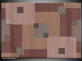 Foto canvas schilderij Modern   Bruin, Grijs