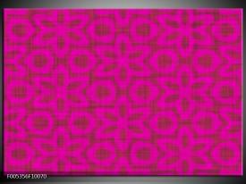 Glas schilderij Modern | Roze