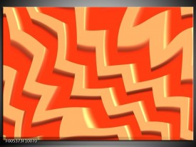 Glas schilderij Modern | Oranje, Geel