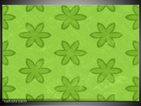 Foto canvas schilderij Modern   Groen