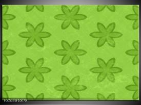 Glas schilderij Modern   Groen