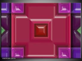 Glas schilderij Modern | Rood, Paars