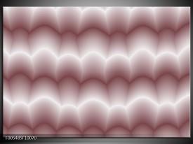 Foto canvas schilderij Abstract | Wit, Bruin