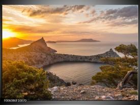 Foto canvas schilderij Natuur | Geel, Bruin, Grijs