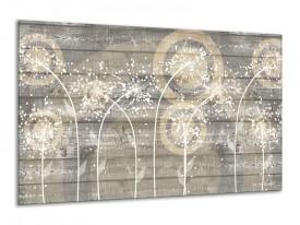 Canvas Schilderij Landelijk | Grijs, Crème | 120x70cm 1Luik