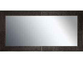 Grote spiegel met houten lijst 150x 75 cm. L00047R150x75cm