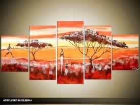OP VOORRAAD Acrylverf schilderij Modern | 150x70cm | TT00099