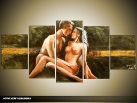 OP VOORRAAD Acrylverf schilderij Kunst | 150x70cm | TT00179