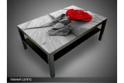 Salontafel Roos | 118x78cm zwartbruin