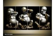 OP VOORRAAD Foto canvas schilderij Boeddha | 160x80cm | F001253