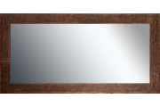Grote spiegel met houten lijst 150x 75 cm. L00045R150x75cm