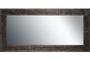 Grote spiegel met houten lijst 130x60cm. L00054R130x60cm
