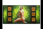 OP VOORRAAD Acrylverf schilderijen | Art | 100x50cm  | MP00694