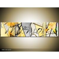 OP VOORRAAD  Foto canvas schilderij Home | 160x40cm | F005720