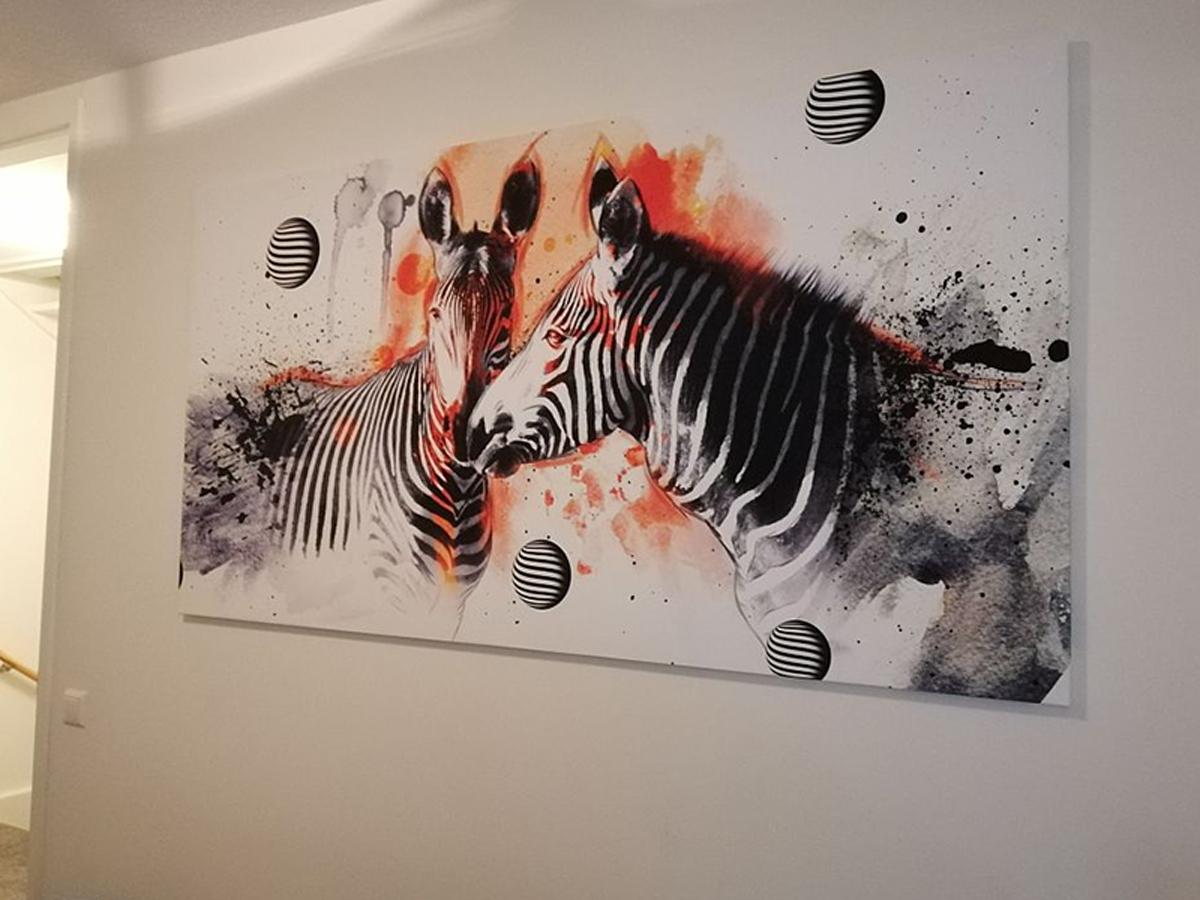 Canvas schilderij dieren 1 Luik GroepArt