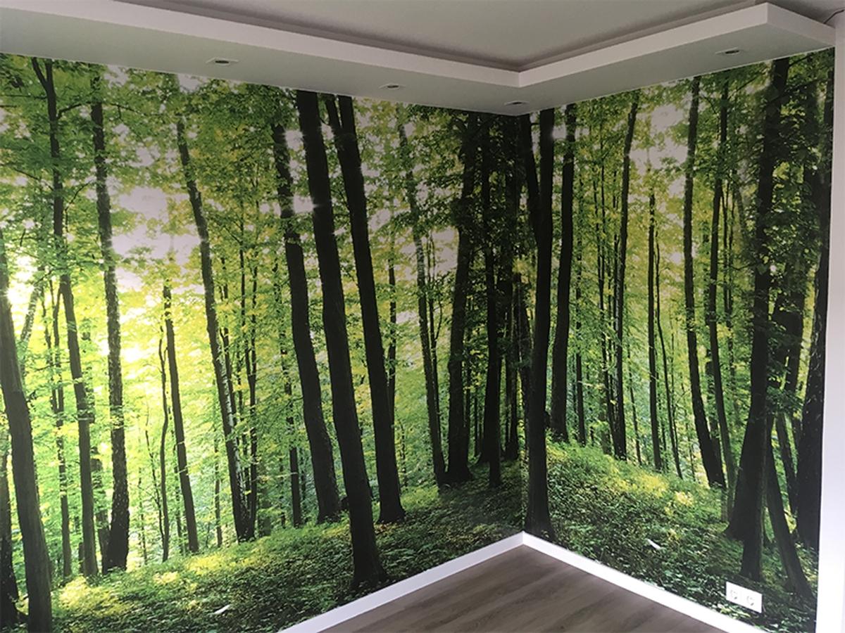 Fotobehang bos groot GroepArt