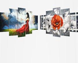 Acrylverf schilderijen